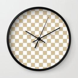1989 Check Wall Clock