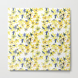 Blue Eyed Susan Metal Print