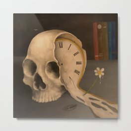 Contemplation of Time Metal Print