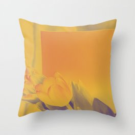 Say it with flowers and love Throw Pillow