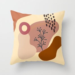 Modern minimalist abstract #5 Throw Pillow