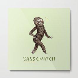 Sassquatch Metal Print