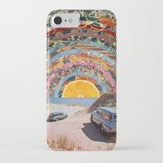 Orange sunset iPhone 8 Slim Case