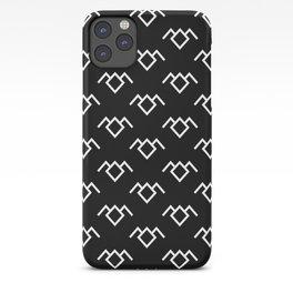 Twin Peaks Owl Petroglyph in Black Lodge iPhone Case