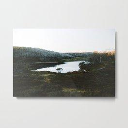 Rainbow Lake Sunrise Metal Print