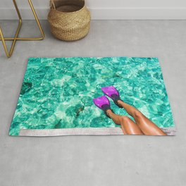 Vacation in the Maldives for the winter holidays Rug