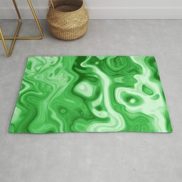malachite natural rock abstract Rug