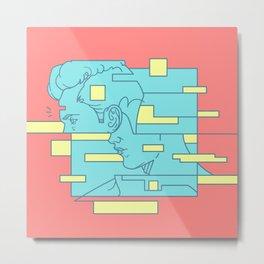 Fragmentation#8 Metal Print
