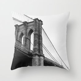 Brooklyn Bridge II Throw Pillow