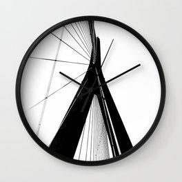 Normandy Bridge 3 Wall Clock
