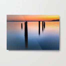 Tacoma Tranquility Metal Print