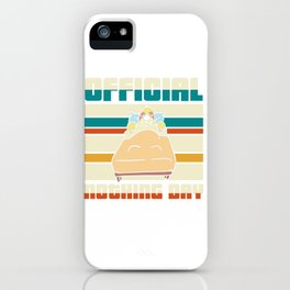 Official nothing day - sloth iPhone Case