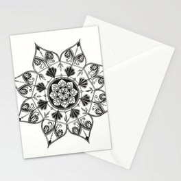 In the beginning it was all black and white. Stationery Cards