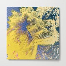 Random 3D No. 1539 Metal Print