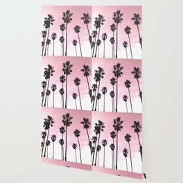 Palms & Sunset Wallpaper