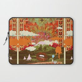 MORNING PSYCHEDELIA Laptop Sleeve