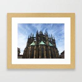 ST. VITUS - PRAHA Framed Art Print