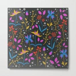 Floral III Metal Print