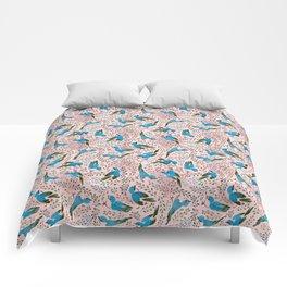 Birds in Spring Comforters