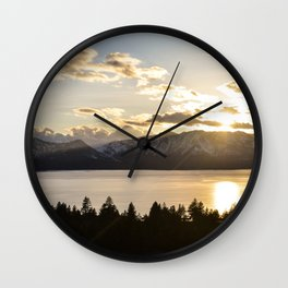 Top Floor Lake Tahoe Wall Clock