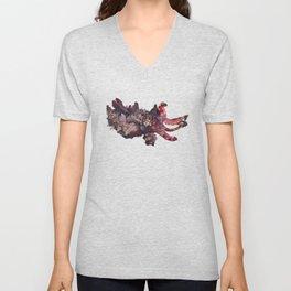 Flamboyant cuttlefish Unisex V-Neck