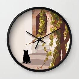 Lindos memories  Wall Clock