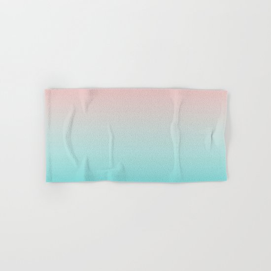 Pastel Ombre Millennial Pink Blue Teal Gradient Pattern by cutepatternstextures