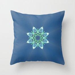 Skyflower Throw Pillow