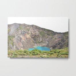 Volcan Irazu Metal Print