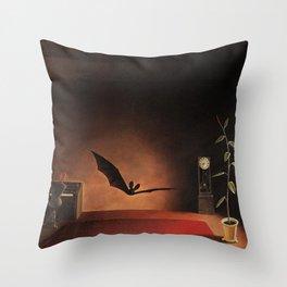 Vivid Retro - Songs in the Twilight Throw Pillow