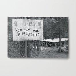 Prosecuted  Metal Print