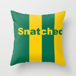 Snatched Throw Pillow