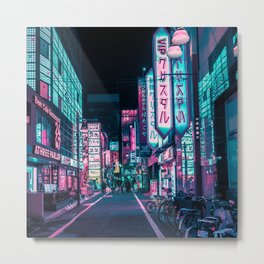 A Neon Wonderland called Tokyo Metal Print