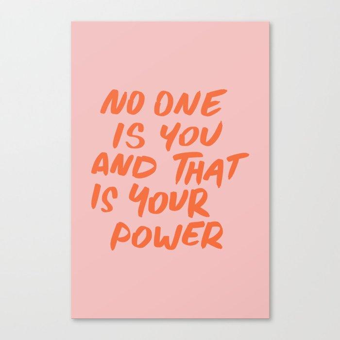 Power Leinwanddruck