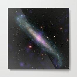 1993. Galaxy NGC 1448 with Active Galactic Nucleus  Metal Print