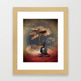 silence -7- Framed Art Print
