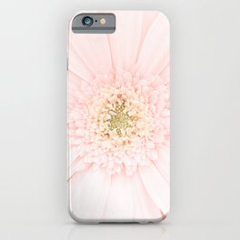 Gerber | Flower Photography | Blush Pink | Love | Minimalist | Plant | Floral iPhone Case