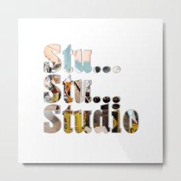 Stu... Stu... Studio Metal Print