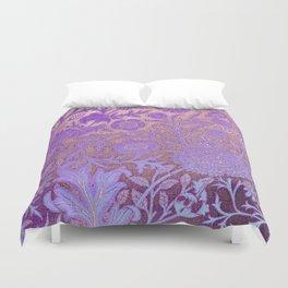 Wiiliam Morris revamped, art nouveau pattern Duvet Cover