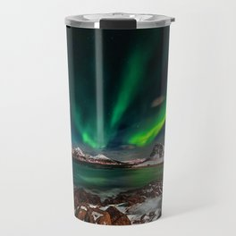 Aurora Borealis - Northern Lights - Twilight Travel Mug