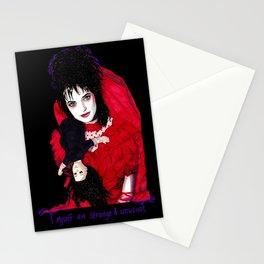 Lydia Deetz - Strange & Unusual Stationery Cards