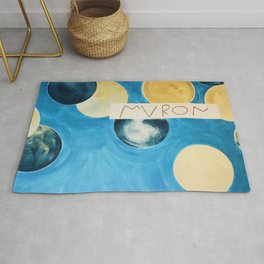 Cy Twombly Ceiling Rug