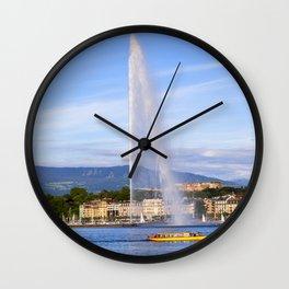 Jet d'Eau Wall Clock