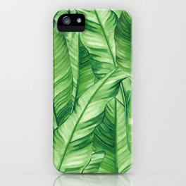 Jungle Life Tropical iPhone Case