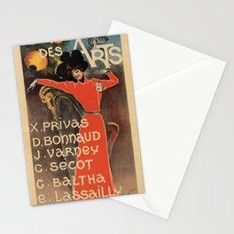 Cabaret des Arts Stationery Cards