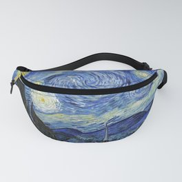 Starry Night by Vincent Van Gogh Fanny Pack