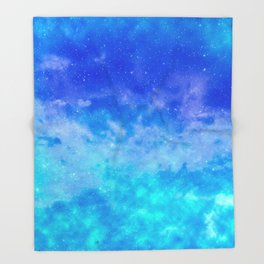 Sweet Blue Dreams Throw Blanket