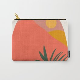 Tropical Landscape Carry-All Pouch