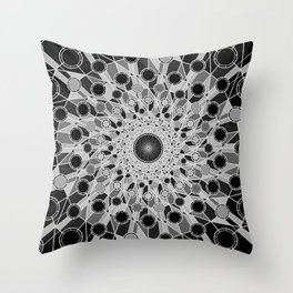 """""""Don't Trust Atoms, They Make Up Everything."""", by Brock Springstead. Throw Pillow"""