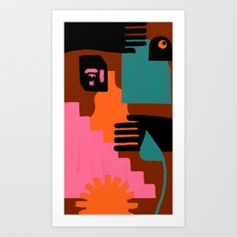 Piezas Art Print